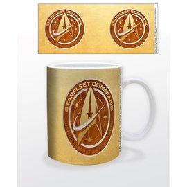 Pyramid America Tasse - Star Trek Discovery - Starfleet Command Dorée 11oz