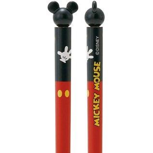 Nibariki Baguettes - Disney Mickey Mouse - Costume avec Tête 3D 1 Paire 16.5cm
