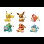 ShoPro Boîte mystère - Pokémon Pocket Monsters - Porte-clés Mini Figurine Collection Apparence Bois Sculpté