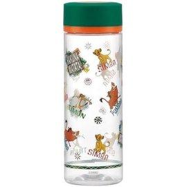Skater Travel Bottle - Disney The Lion King - Hakuna Matata Simba, Timon and Pumbaa 400ml