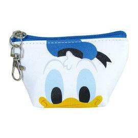 Disney Entreprise Wallet - Disney Mickey Mouse - Donald Duck Face Triangle Mini Coin Pouch