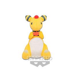 "Banpresto Peluche - Pokémon Pocket Monsters - Ampharos qui Mange un Haricot All Star Collection 10.5"""