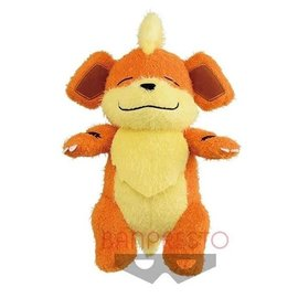 "Banpresto Peluche - Pokémon Pocket Monsters - Growlithe Carry Me Collection 9"""