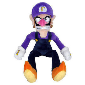 San-Ei Peluche - Nintendo Super Mario - Waluigi All Star Collection 13""