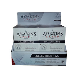 PowerA Blind Box - Assassin's Creed - Mystery Collector Edition Lapel Pin Series 1