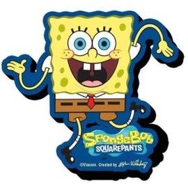 NMR Aimant - SpongeBob SquarePants - Bob L'Éponge Dance en Bois 3D