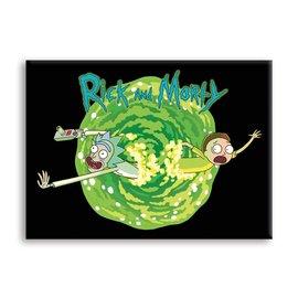 NMR Magent - Rick & Morty - Portal Logo