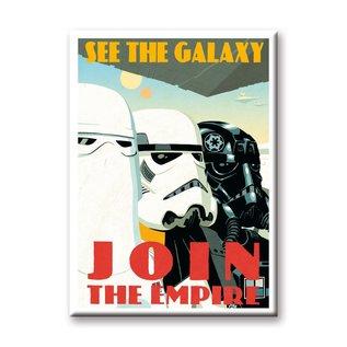 Aquarius Aimant - Star Wars - See the Galaxy Join the Empire Propaganda Poster