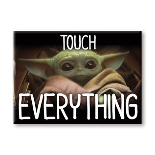 "Ata-Boy Aimant - Star Wars The Mandalorian - The Child ""Bébé Yoda"" Grogu Touch Everything"