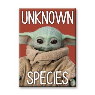 "Ata-Boy Aimant - Star Wars The Mandalorian - The Child ""Bébé Yoda"" Grogu Unknown Species"