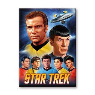Ata-Boy Aimant - Star Trek The Original Series - Poster Vintage