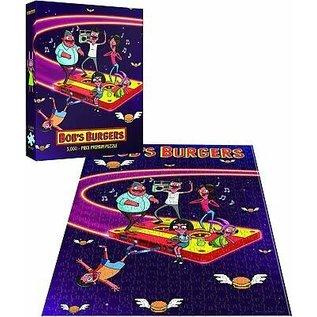 Usaopoly Casse-tête - Bob's Burger - Cassette Volante 1000 pièces *Liquidation* qwe