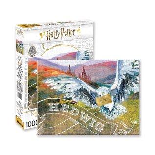 Aquarius Casse-tête - Harry Potter - Hedwige à Poudlard Peinture 1000 pièces