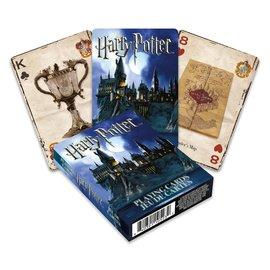 Aquarius Playing Cards - Harry Potter - Hogwarts at Night
