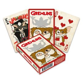 Aquarius Playing Cards - Gremlins - Gizmo is Scared of Stripe
