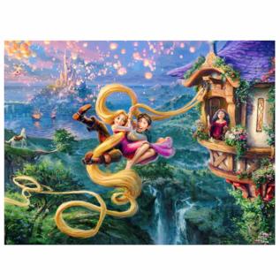 Ceaco Casse-tête - Disney Raiponce - Raiponce et Flynn Ryder en Cavale par Thomas Kinkade 750 pièces