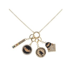 Bioworld Necklace - Fantastic Beasts The Crimes of Grindelwald - Niffler Charms Interchangeable