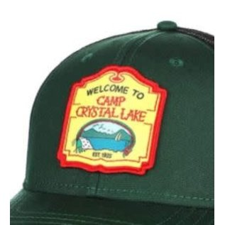 Bioworld Casquette - Friday the 13th - Welcome to Camp Crystal Lake Ajustable avec Mesh