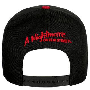 Bioworld Casquette - A Nightmare on Elm Street - Photo de Freddy Brodée Snapback Ajustable