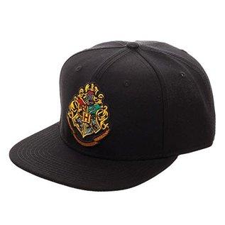 Bioworld Casquette - Harry Potter - Emblème de Poudlard Brodée Snapback