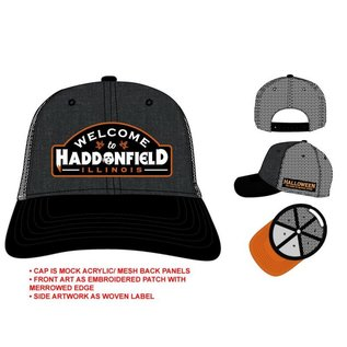 Bioworld Casquette - Halloween The Curse of Michael Myers - Welcome to Haddonfield Snapback Ajustable