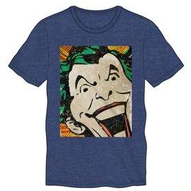 Bioworld Tee-shirt - DC Comics Batman - Le Joker Vintage Bleu