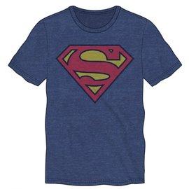Bioworld T-shirt - DC Comics Superman - Classic Logo Blue