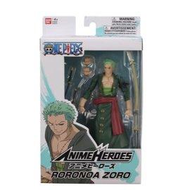 """Bandai Figurine - One Piece - Anime Heroes Roronoa Zoro 5"""""""