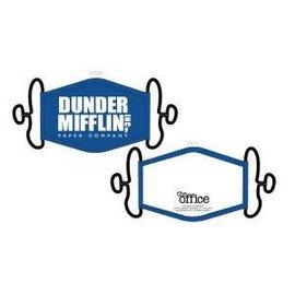 Bioworld Masque - The Office - Dunder Mifflin Inc, Paper Company Couvre-Visage Paquet de 3 pour Adultes *Liquidation*