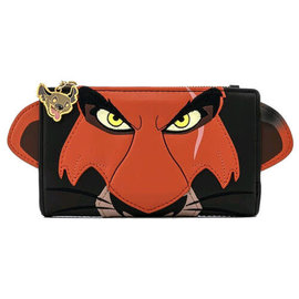 Loungefly Wallet - Disney The Lion King - Scar Faux Leather