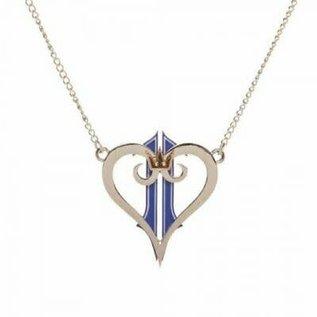 Collier - Kingdom Hearts II - Logo Coeur avec Couronne *Liquidation* qwe
