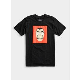 Jack of all Trades T-Shirt - La Casa de Papel - Dali Mask Black