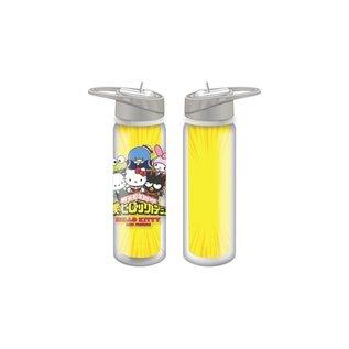 bioword Bouteille de voyage - My Hero Academia X Hello Kitty And Friends - Personnages de Sanrio Déguisés 16oz