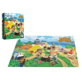 The OP Games Casse-tête - Nintendo Animal Crossing - Welcome to Animal Crossing 1000 pièces