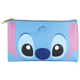Disney Entreprise Portefeuille - Disney Lilo & Stitch - Visage de Stitch Grande Pochette Plate Multi