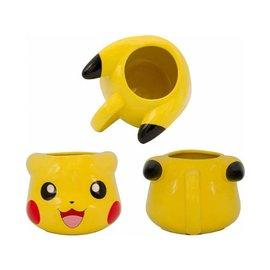 Silver Buffalo Tasse - Pokémon - Pikachu qui Sourit 3D 12oz