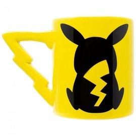 Silver Buffalo Tasse - Pokémon - Pikachu avec Anse en Forme d'Éclair 20oz