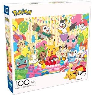 Buffalo Casse-tête - Pokémon - Fête d'Anniversaire! 100 pièces