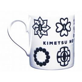 Toei Mug - Demon Slayer: Kimetsu no Yaiba - Hirachi Symbols White with Relief 8oz