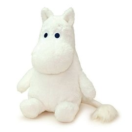 "Sekiguchi Peluche - The Moomins - Moomintroll Assis 12"""