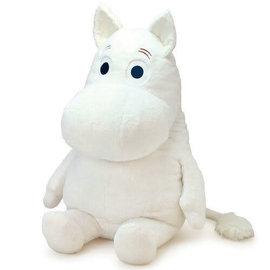 "Sekiguchi Peluche - The Moomins - Moomintroll Assis 28"""