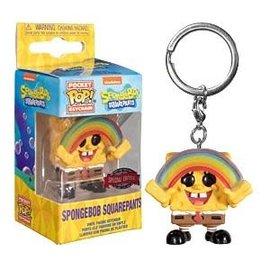 Funko Funko Pocket Pop! Keychain - SpongeBob SquarePants - SpongeBob SquarePants (with Rainbow)*Special Edition Exclusive*