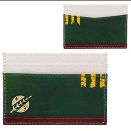 Bioworld Card Holder - Star Wars - Boba Fett Logo Faux Leather
