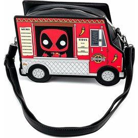 Loungefly Sacoche - Marvel Deadpool - Deadpool's Chimichangas 30ème Anniversaire Sac en Bandouillère en Faux Cuir