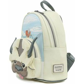 Loungefly Mini Sac à Dos - Avatar the Last Airbender - Appa the Sky Bison avec Aang en Faux Cuir
