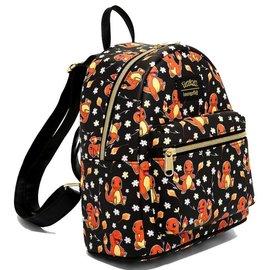 Loungefly Mini sac à dos - Pokémon - Charmander avec Fleurs