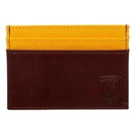 Bioworld Card Holder - Harry Potter - Gryffindor Crest Burgundy Faux Leather