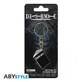 AbysSTyle Porte-Clés - Death Note - Le Death Note en Métal avec Émail