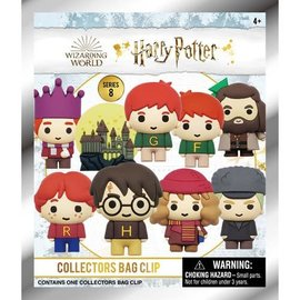 Monogram Sac mystère - Harry Potter - Porte-clés Figurine Holiday Série 8 Clip pour Sac à Dos