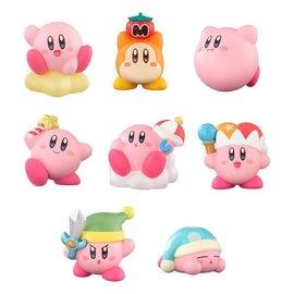 Bandai Boîte mystère - Nintendo Kirby Kirby's Dream Land - Kirby Friends Mini Figurine avec Gomme